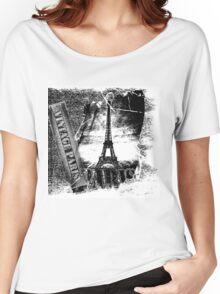 Vintage Eiffel Tower Paris #2 T-shirt Women's Relaxed Fit T-Shirt