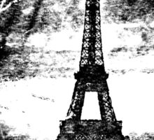 Vintage Eiffel Tower Paris #2 T-shirt Sticker