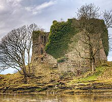 Abandoned Castle Lachlan by JPassmore