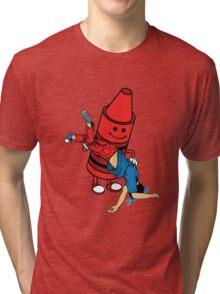 Crayon switch Tri-blend T-Shirt