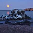 Moon Over Superior by by Marvil LaCroix