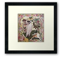 My Garden's Embrace Framed Print