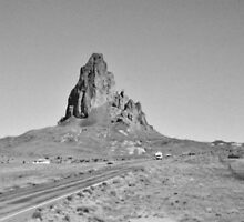 Monument Valley 1999 on film and in black and white #6 by SomeGuyInNJ