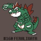 Feraligatr Devamped Sprite w/ Entry by CleverLorises