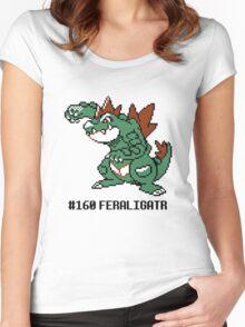 Feraligatr Devamped Sprite w/ Entry Women's Fitted Scoop T-Shirt