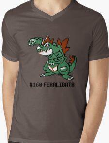 Feraligatr Devamped Sprite w/ Entry Mens V-Neck T-Shirt