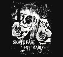 Roller Derby - Skate Fast, Hit Hard by Monika Malkowska