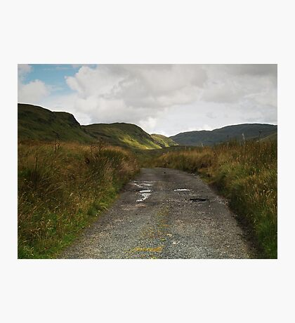 Blue Stack Mountain Road Photographic Print