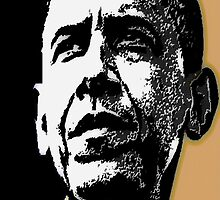 PRESIDENT OBAMA-DEMOCRATIC PARTY 3 by OTIS PORRITT