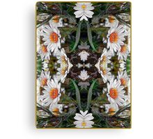 Hope - Card IV from The Tarot of Flowers Canvas Print