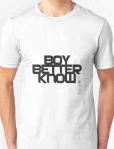 BBK- boy better know white edition  T-Shirt
