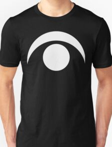Sun and Crescent Moon | White Ink T-Shirt