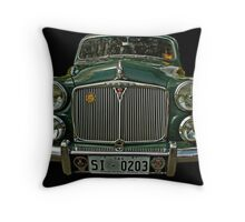Welcome to Rover's Bar and Grill Throw Pillow