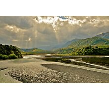 Storm Clouds over Lewis Pass Photographic Print