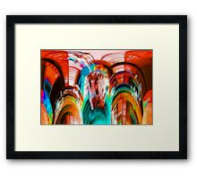 Coloured Abstract #2 Framed Print