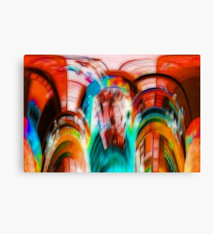 Coloured Abstract #2 Canvas Print