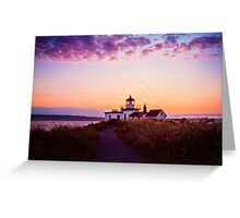 Discovery Park Lighthouse Greeting Card