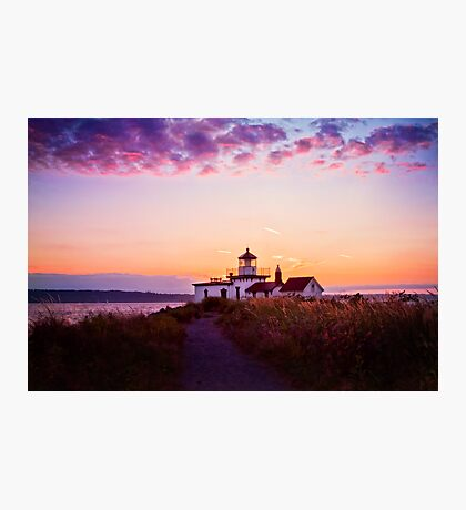 Discovery Park Lighthouse Photographic Print