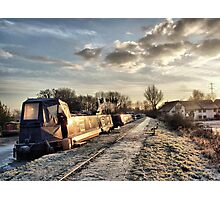 Cold and Frosty Photographic Print