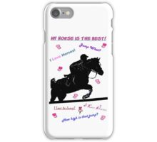 Horse Doodles iPhone & iPod Cases iPhone Case/Skin
