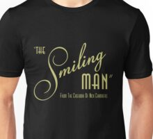 The Smiling Man -- Logo (Dark) Unisex T-Shirt