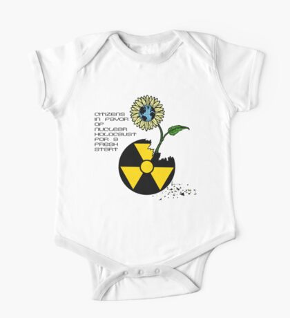 Citizens in Favor of Nuclear Holocaust One Piece - Short Sleeve