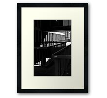 Linear Treasury Framed Print