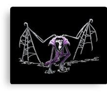 Halloween Creeping Canvas Print