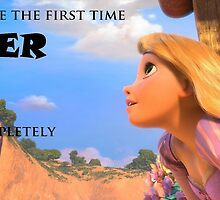 """Tangled Rapunzel """"Completely Free"""" Poster by Agony"""