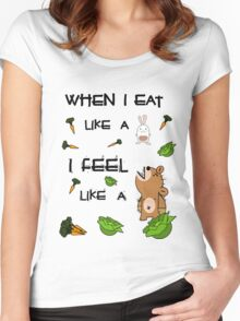 Vegetarian Carnivore Women's Fitted Scoop T-Shirt