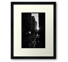 Unexpected Moment Framed Print