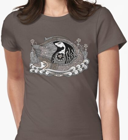 Safe Passage Womens Fitted T-Shirt