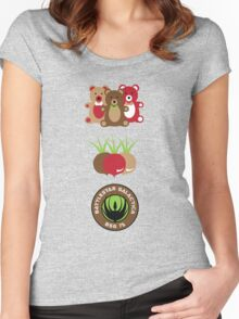 Bears. Beets. Battlestar Galactica. Women's Fitted Scoop T-Shirt