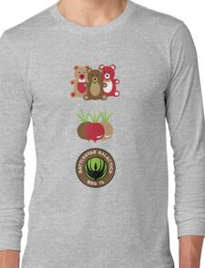 Bears. Beets. Battlestar Galactica. Long Sleeve T-Shirt