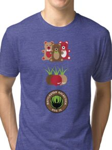 Bears. Beets. Battlestar Galactica. Tri-blend T-Shirt