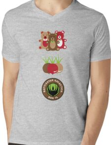 Bears. Beets. Battlestar Galactica. Mens V-Neck T-Shirt
