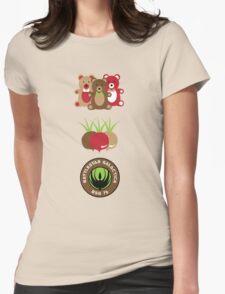 Bears. Beets. Battlestar Galactica. Womens Fitted T-Shirt