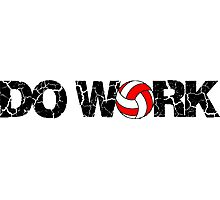 Do Work - Volleyball Photographic Print
