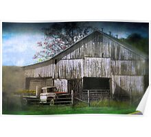 The Foggy Bottom Barn Poster