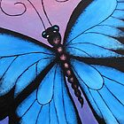 Kazart Butterfly No.3 iphone case by Karen Sagovac