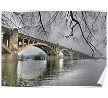 Columbia-Wrightsville Bridge Poster