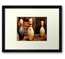 Ouija Bowl Framed Print