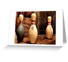 Ouija Bowl Greeting Card