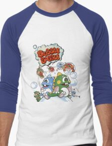 Bubble Bobble Men's Baseball ¾ T-Shirt