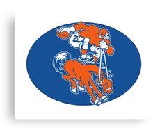 Denver Broncos Logo 2 Canvas Print