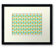 Fruit pattern Framed Print