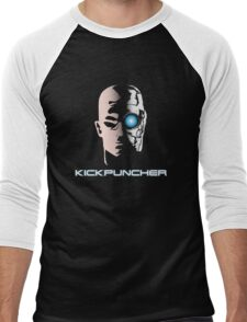 Kickpucnher Men's Baseball ¾ T-Shirt