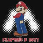Plumber's Butt Distressed by WUVWA