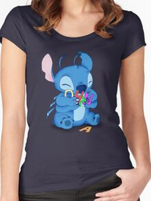 Ohana Women's Fitted Scoop T-Shirt