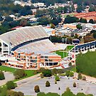 Death Valley at 700' - Clemson University by Randall Faulkner